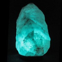 *SALE! Large Natural Glacier Crystal, blue Himalayan salt ...
