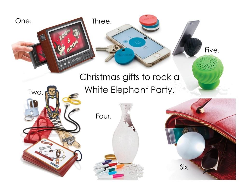 White Elephant Gift Ideas For Christmas