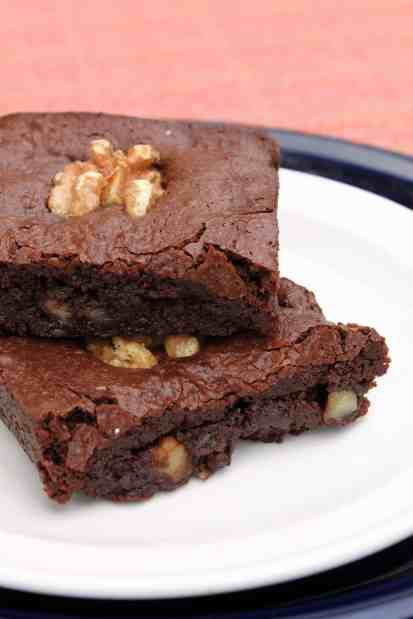 Gluten-Free Brownie for One