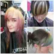 dye hair unnatural