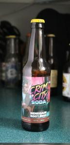 Crim City Soda Renegade Root Beer