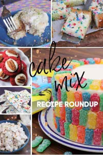 Cake Mix Recipe Roundup