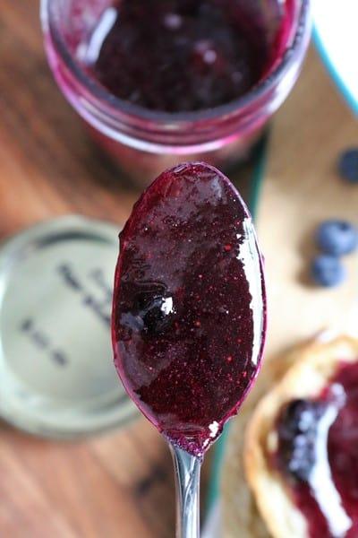 Blueberry Pear Ginger Jam #blueberryjam