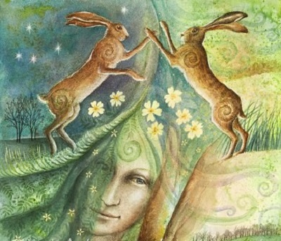 Ostara And The Bunny