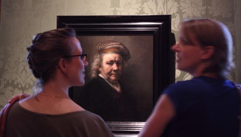 Selfie by Rembrandt
