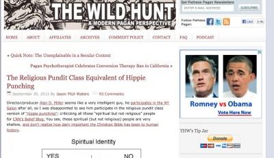 Wild Hunt Pagan Blog