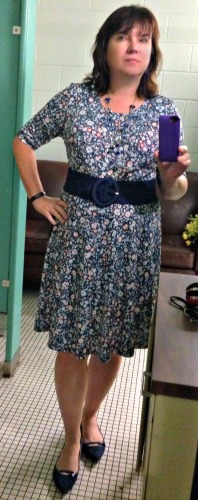 This one just plain felt good to wear and went from work to a casual after-work meeting.