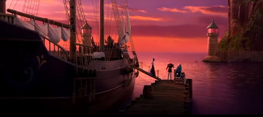 king and queen going