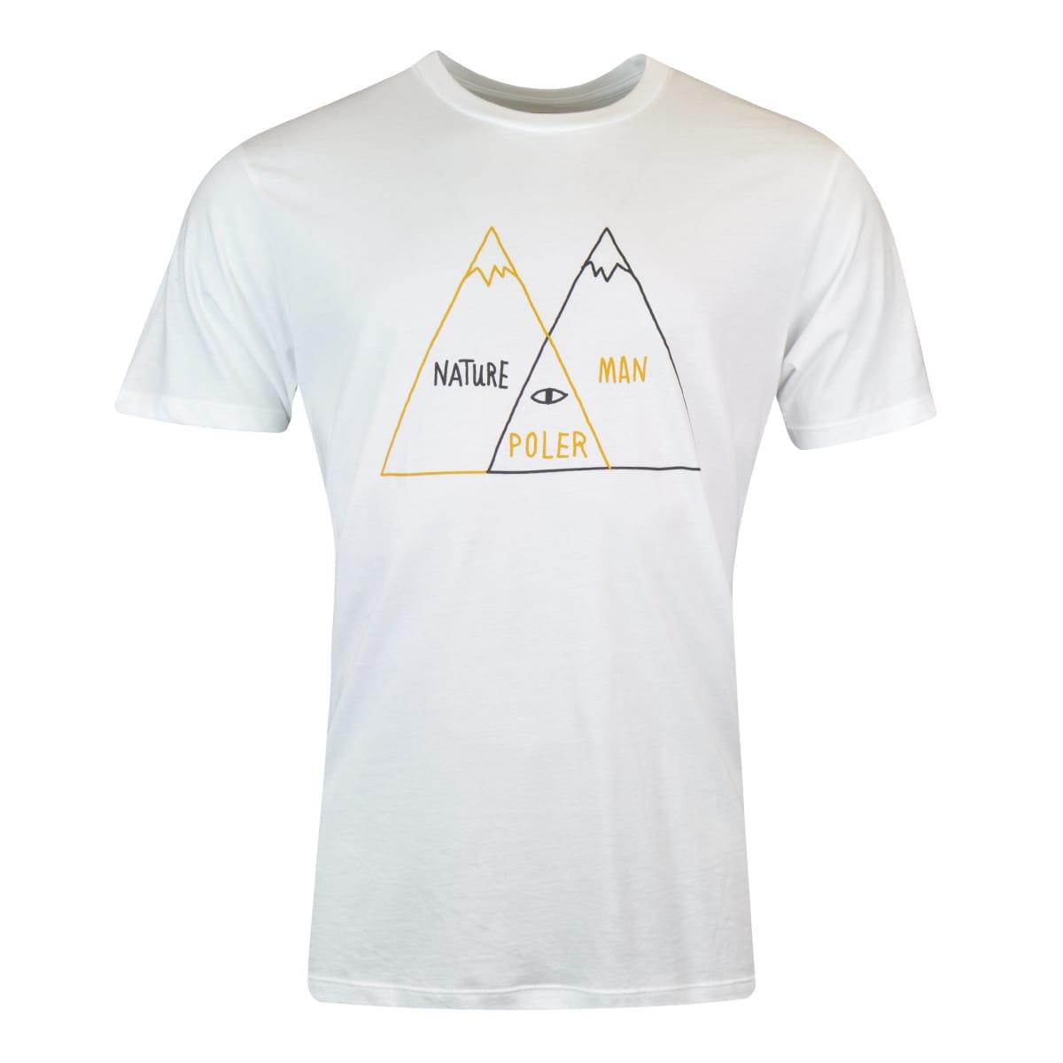 hight resolution of poler venn diagram t shirt white