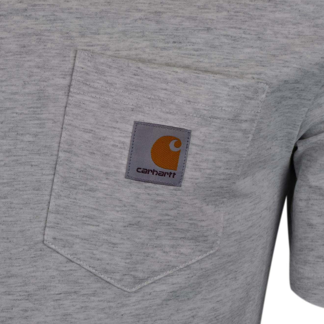 Carhartt Pocket T Shirt Ash Heather