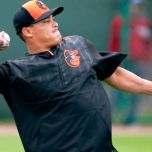 Everth Cabrera at Baltimore Orioles spring training