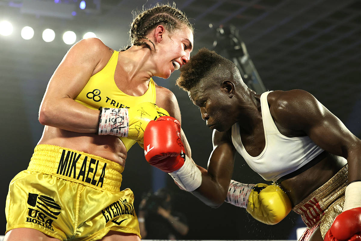 Dominant Mikaela Mayer first woman in 40 years to headline ESPN boxing event - THE SPORTS ROOM