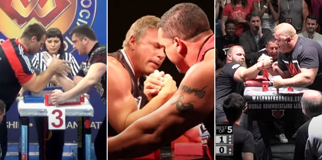 5 greatest male arm wrestling bouts of all time - THE SPORTS ROOM