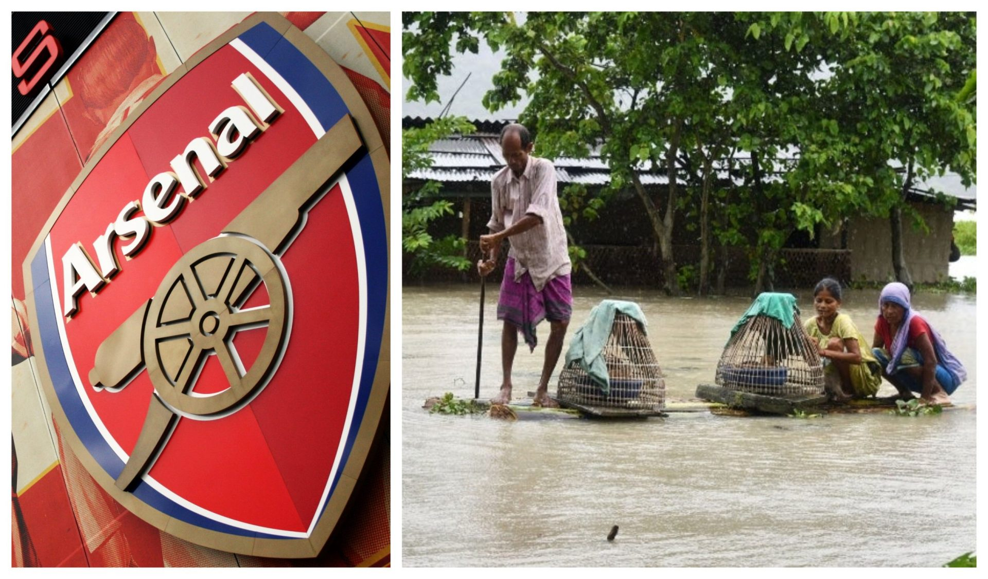 Arsenal to Assam: Stay strong, we're with you! - THE SPORTS ROOM