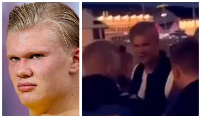 Man Marked: Erling Braut Haaland kicked out of a nightclub in Norway. - THE SPORTS ROOM
