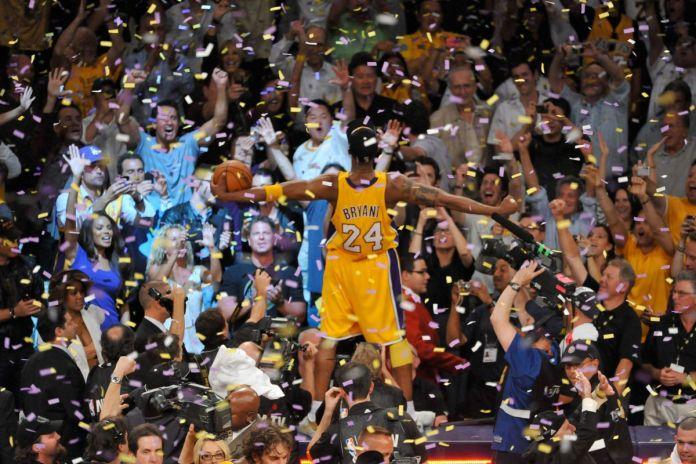 Kobe Bryant - part of the 2010 title winning team.
