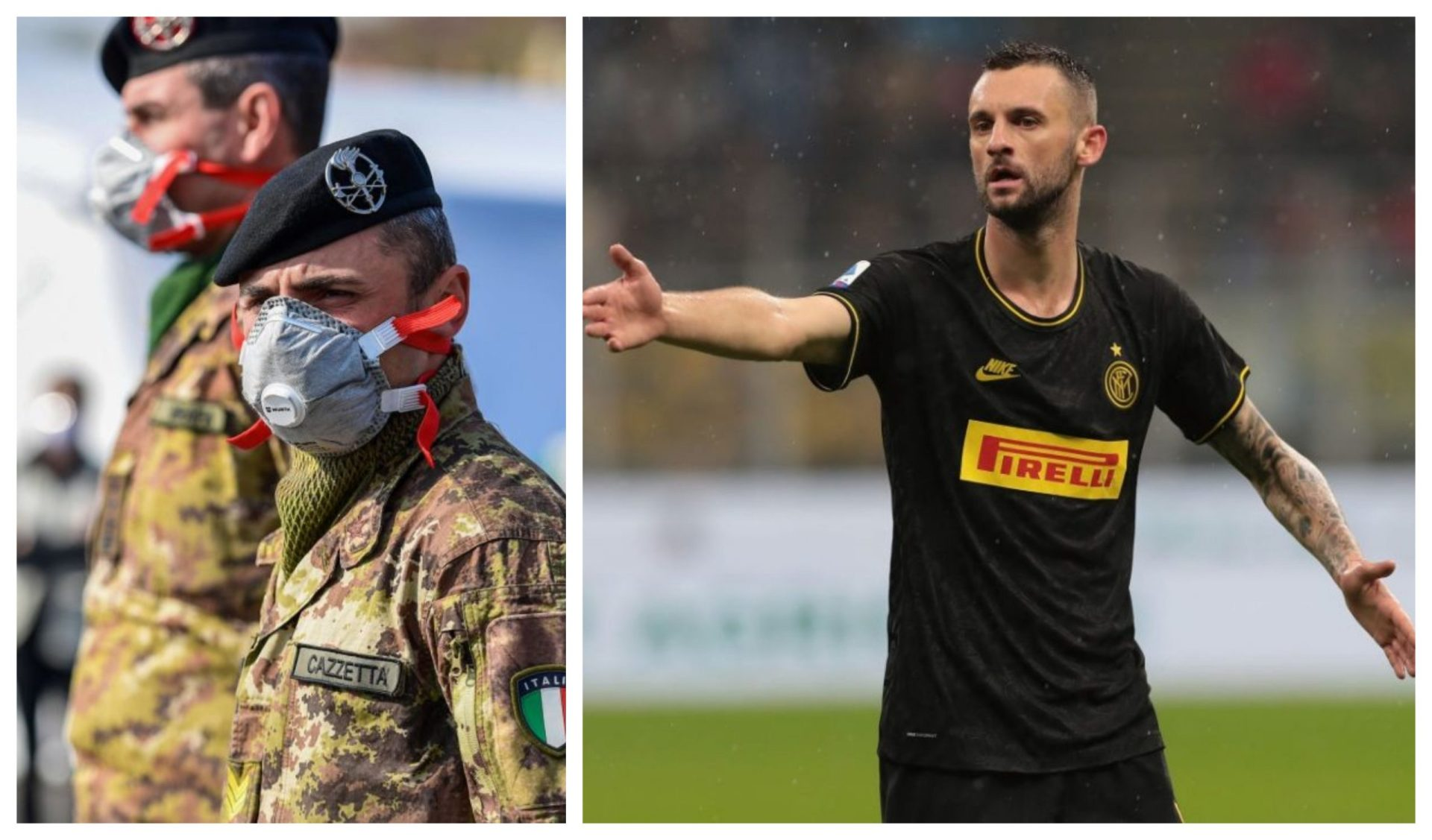 Military intervention required in hospital to calm down Inter Milan's Brozovic - THE SPORTS ROOM