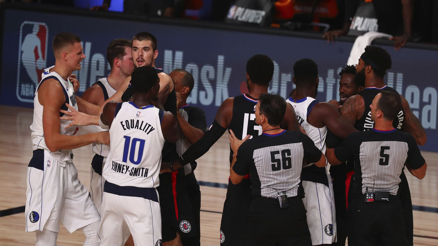 NBA Playoffs 2019-20 : Los Angeles Clippers overcome the Mavs while Denver Nuggets beat Utah Jazz in Overtime - THE SPORTS ROOM