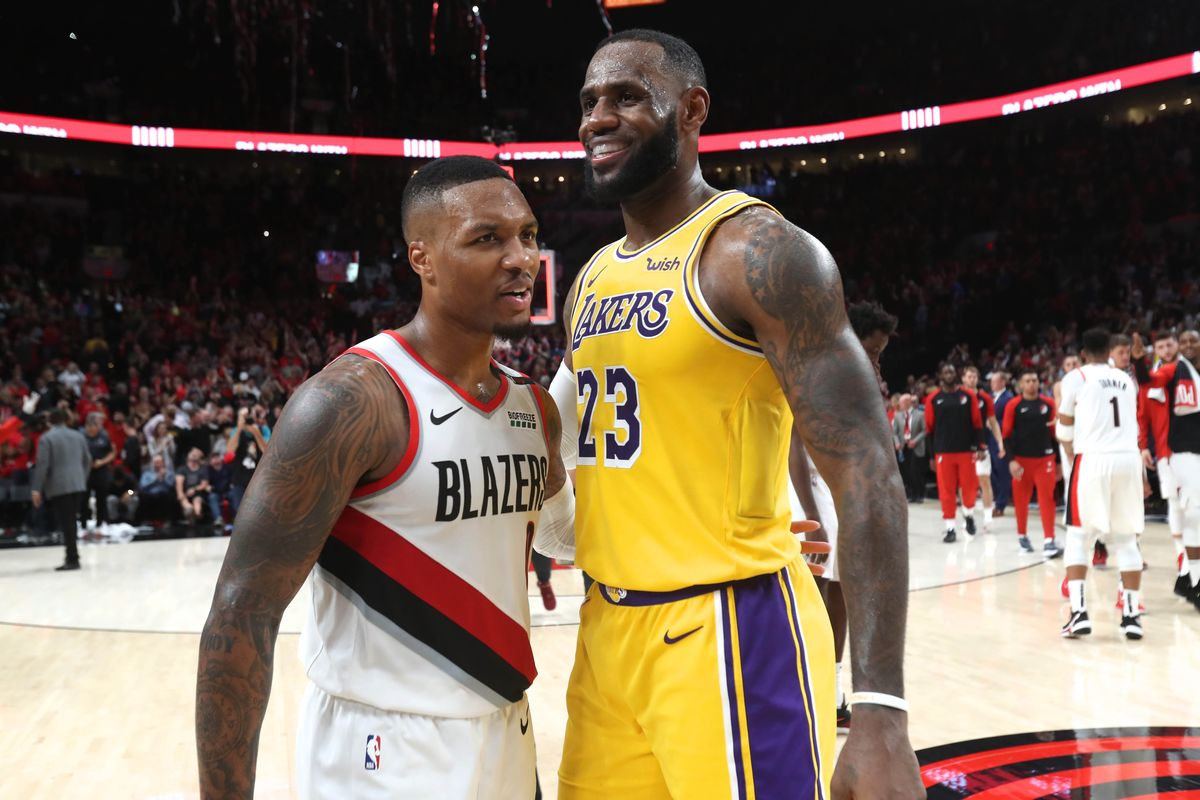 NBA Playoffs: LA Lakers stunned by Damian Lillard and the Blazers after Magic upset top seed bucks - THE SPORTS ROOM