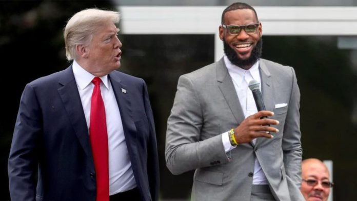 LeBron James, Donald Trump