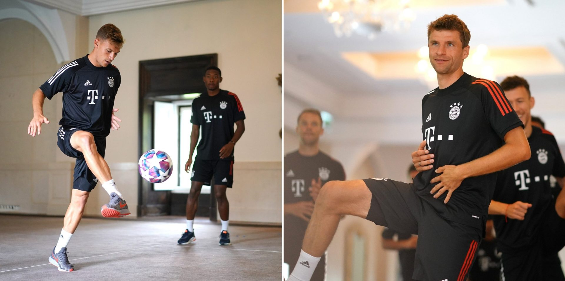 No outfield training? Bayern Munich players just need the team hotel! - THE SPORTS ROOM