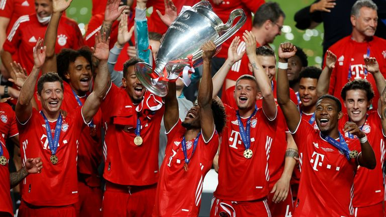 Records fall like a deck of cards as Bayern's juggernaut ends with an UCL trophy - THE SPORTS ROOM
