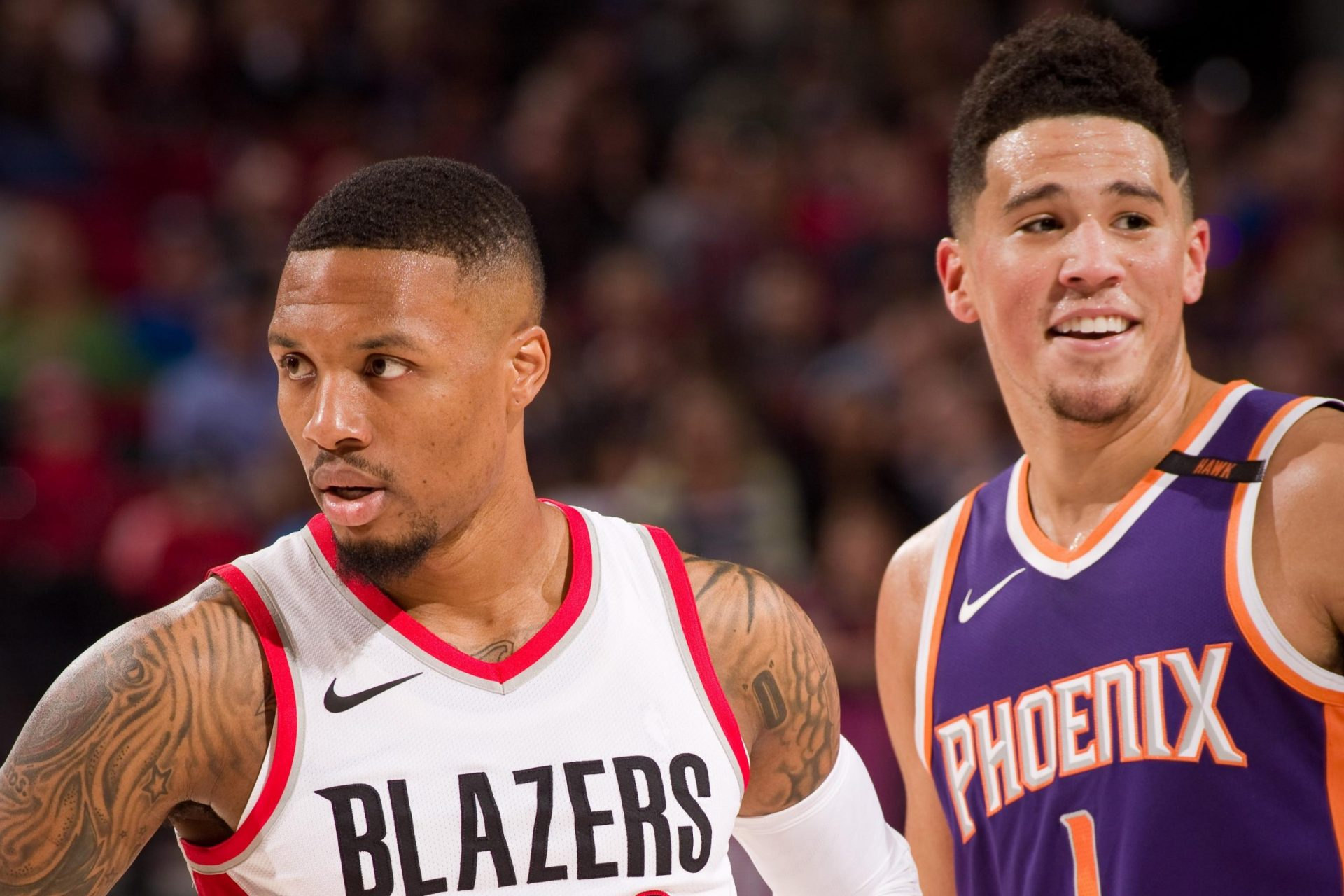 Damian Lillard Scores an outrageous 61 Points to bag crucial win, Phoenix Suns go 7-0 to keep their playoff hopes alive - THE SPORTS ROOM