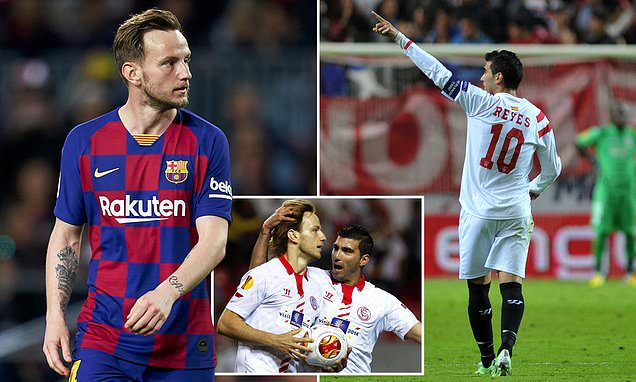 The prodigal son returns:Ivan Rakitic set to complete a shock move back to Sevilla - THE SPORTS ROOM