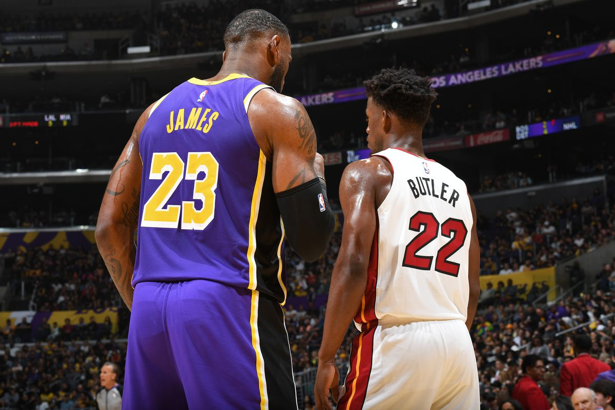 It's the Miami Heat vs Los Angeles Lakers in the 2020 NBA Finals! - THE SPORTS ROOM