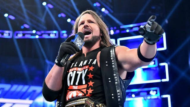 AJ Styles reveals the reason he dislikes watching himself on TV - THE SPORTS ROOM