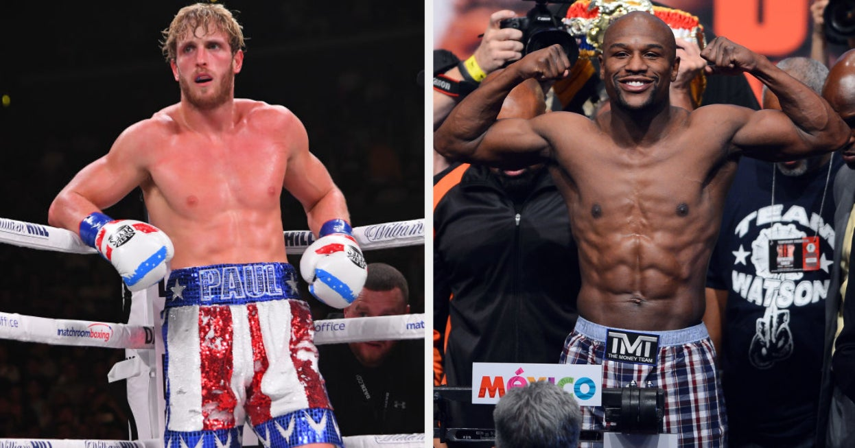 Floyd Mayweather vs Logan Paul to take place in later this year - THE SPORTS ROOM