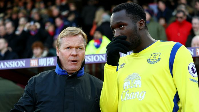 He was strict: Lukaku reveals his first interaction with Ronald Koeman at Everton - THE SPORTS ROOM