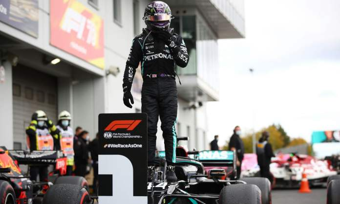 F1 Eifel GP results: Lewis Hamilton wins Nürburgring, equals Michael Schumacher's record - THE SPORTS ROOM