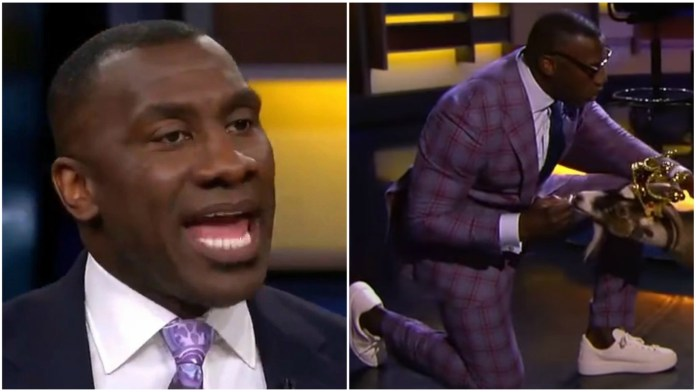 Jordan or LeBron, who is the G.O.A.T? Shannon Sharpe brings an actual goat to reveal his answer! - THE SPORTS ROOM