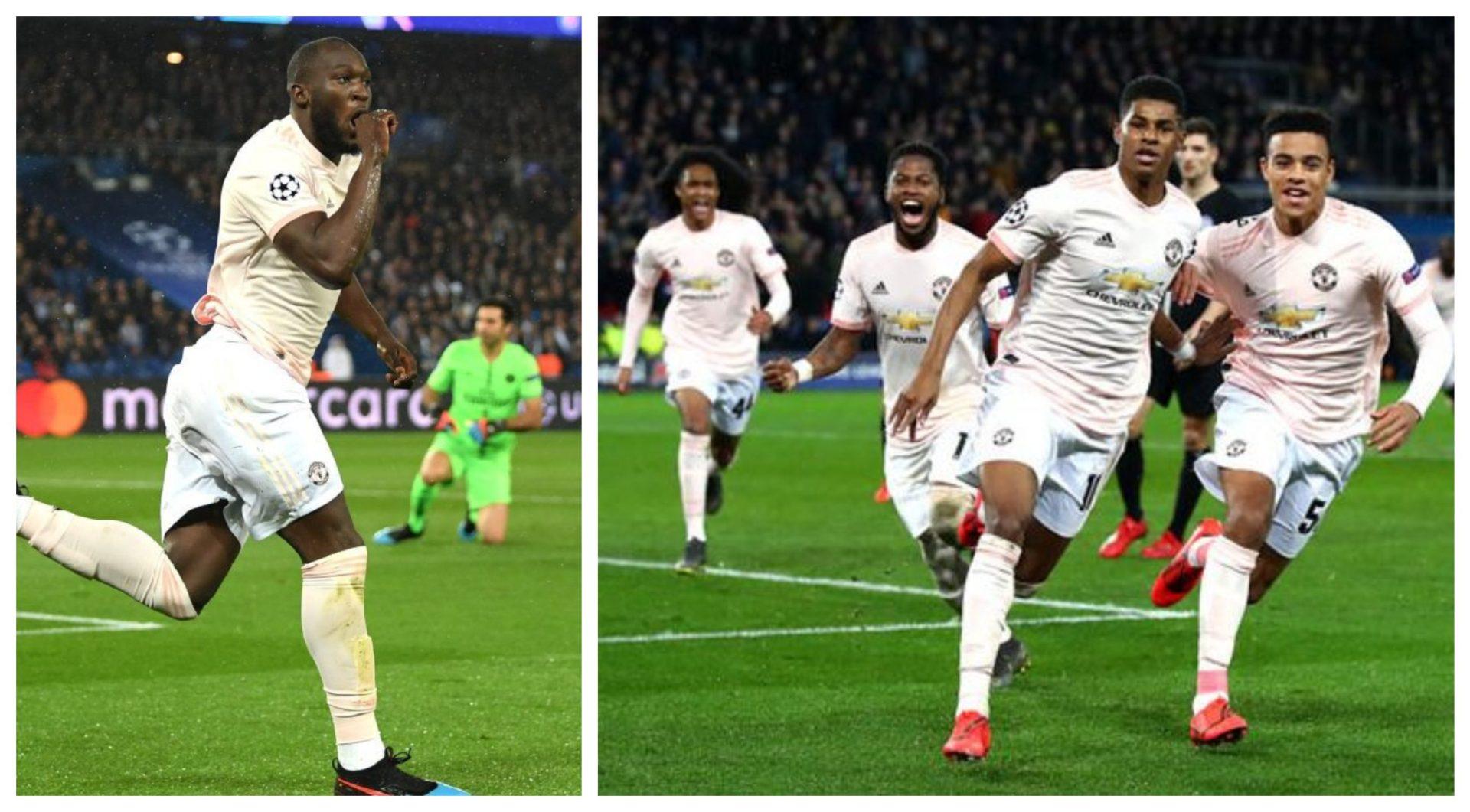 """Lukaku is Selfless""-Rashford tweets behind the scenes story of Man Utd's famous win over PSG - THE SPORTS ROOM"