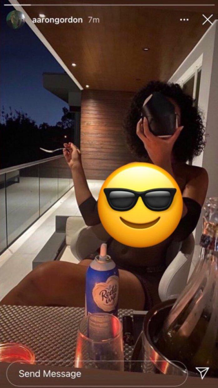 Orlando Magic forward Aaron Gordon mistakenly uploads revealing photo of girlfriend - THE SPORTS ROOM