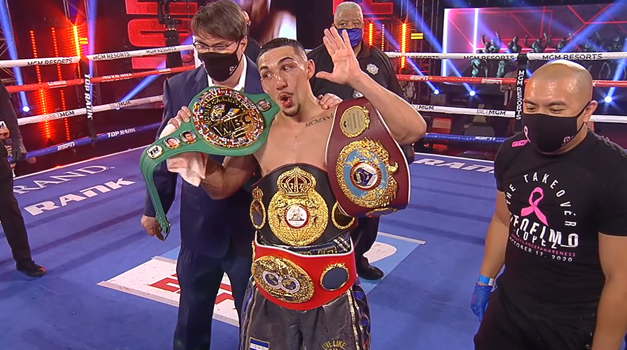 23-year old Teofimo Lopez becomes the undisputed lightweight champion - THE SPORTS ROOM