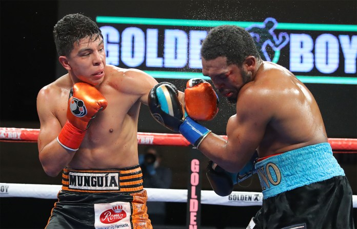 Tureano Johnson sustains horrible lip injury in the loss against Jaime Munguía - THE SPORTS ROOM