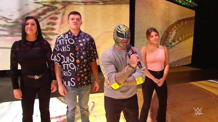 Rey Mysterio opens up on how the Seth Rollins feud has impacted his family - THE SPORTS ROOM