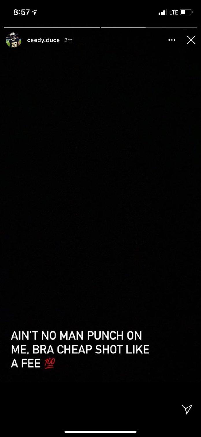 Watch: Javon Wims swings at CJ Gardner-Johnson during Saints vs Bears - THE SPORTS ROOM