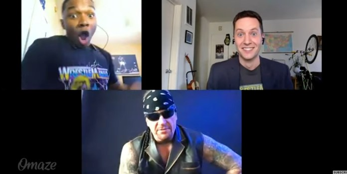 Watch: The Undertaker pulls hilarious prank on fans and surprises them on camera - THE SPORTS ROOM