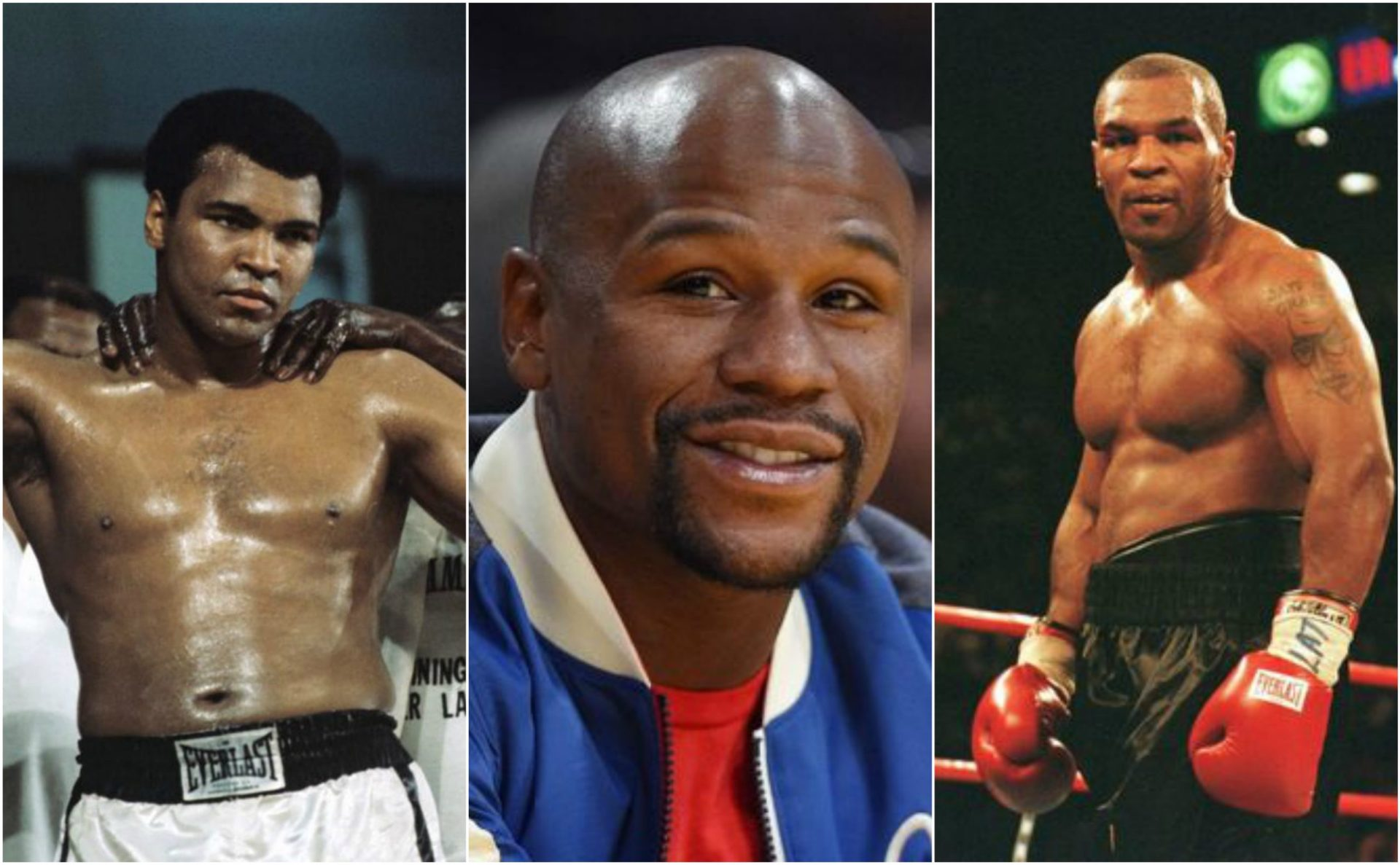 Muhammad Ali and Mike Tyson are not included in Floyd Mayweather's top 5 greatest boxers of all time - THE SPORTS ROOM