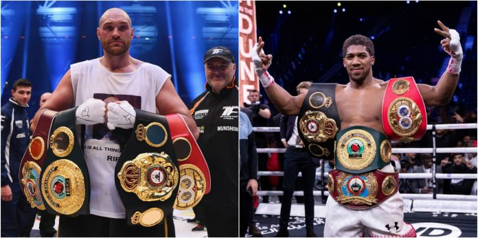 Promoter Eddie Hearn claims Tyson Fury has 'laughable' stats compared to Anthony Joshua - THE SPORTS ROOM
