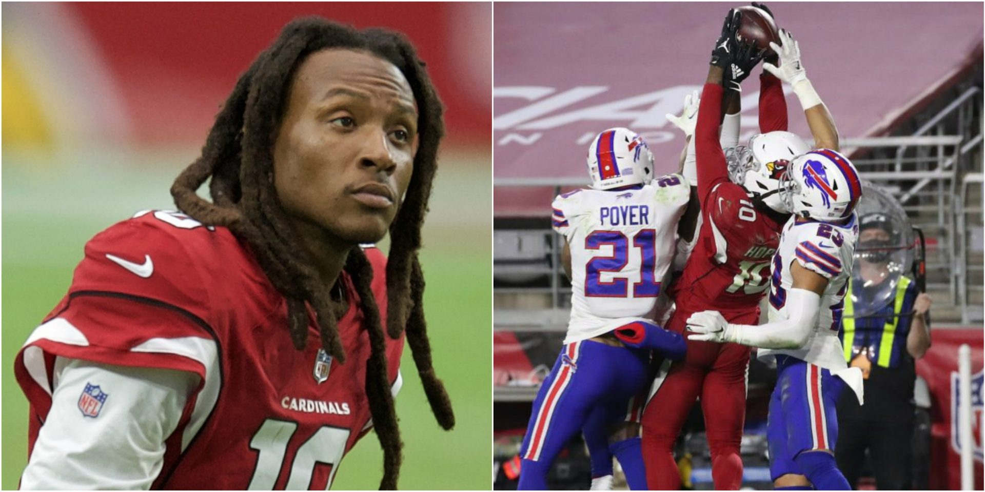 Here's how DeAndre Hopkins' last-minute catch against Bills yielded $5.7 million in exposure for Nike! - THE SPORTS ROOM