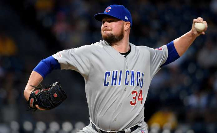 Jon Lester celebrates Cubs farewell with beers worth $47,000 for fans - THE SPORTS ROOM