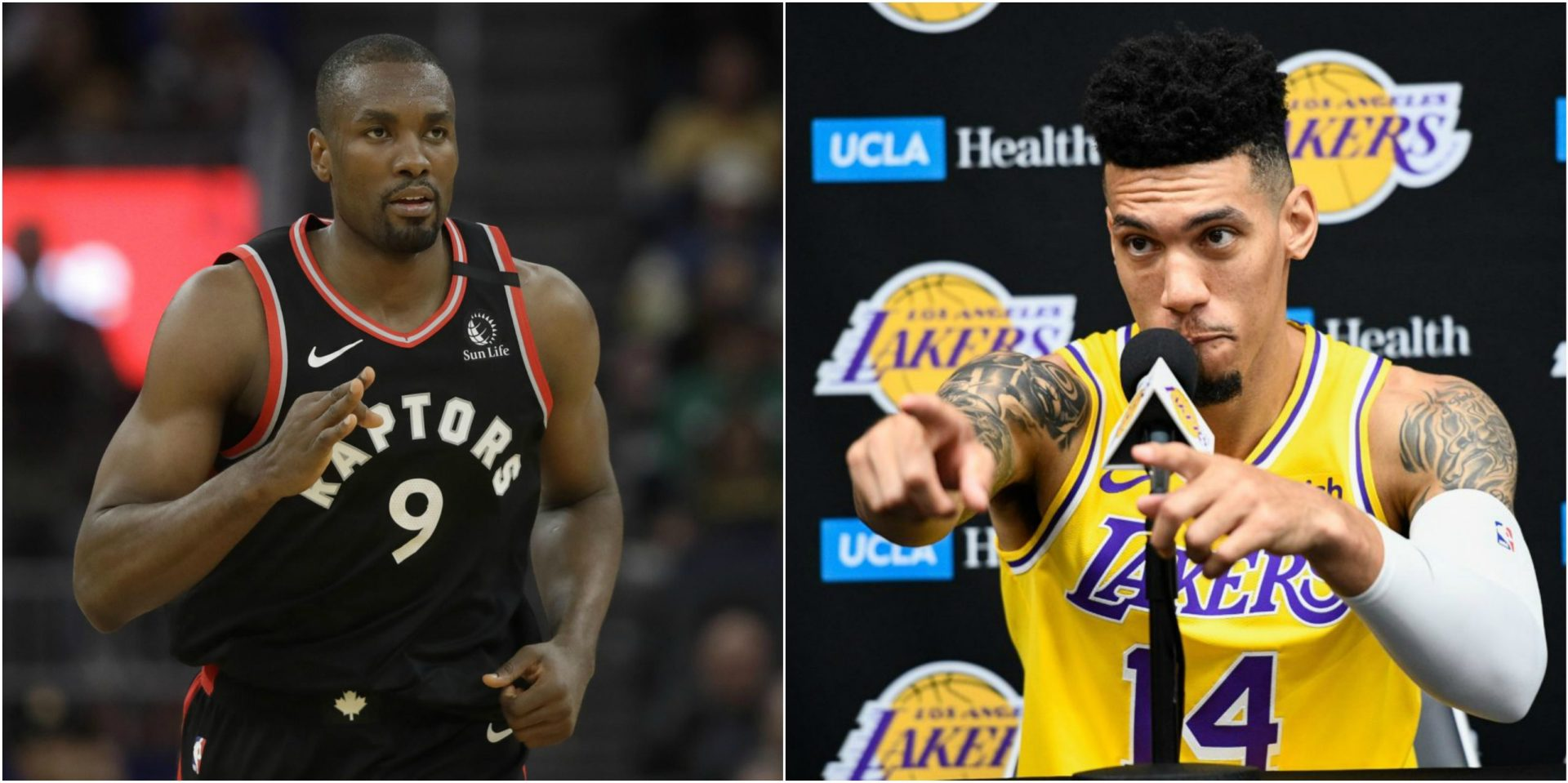 Danny Green has a 'slithering' response to Serge Ibaka's Clippers draft - THE SPORTS ROOM