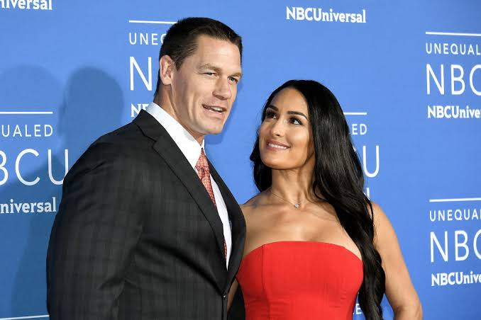 Nikki Bella reveals the message she got from ex-boyfriend John Cena after giving birth - THE SPORTS ROOM