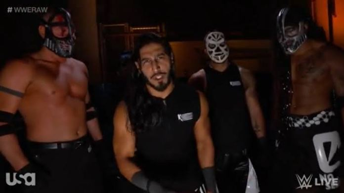 Mustafa Ali reveals some secrets about RETRIBUTION Members - THE SPORTS ROOM