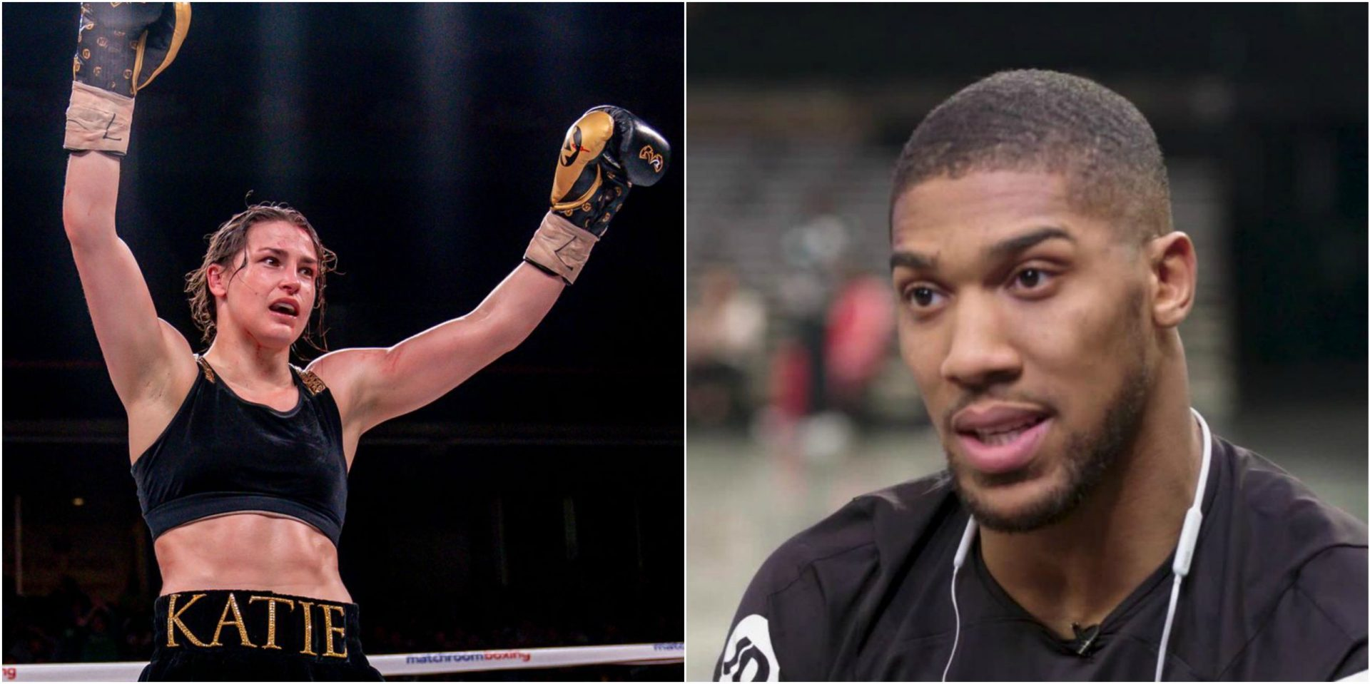 Katie Taylor is a phenomenal boxer: Anthony Joshua - THE SPORTS ROOM