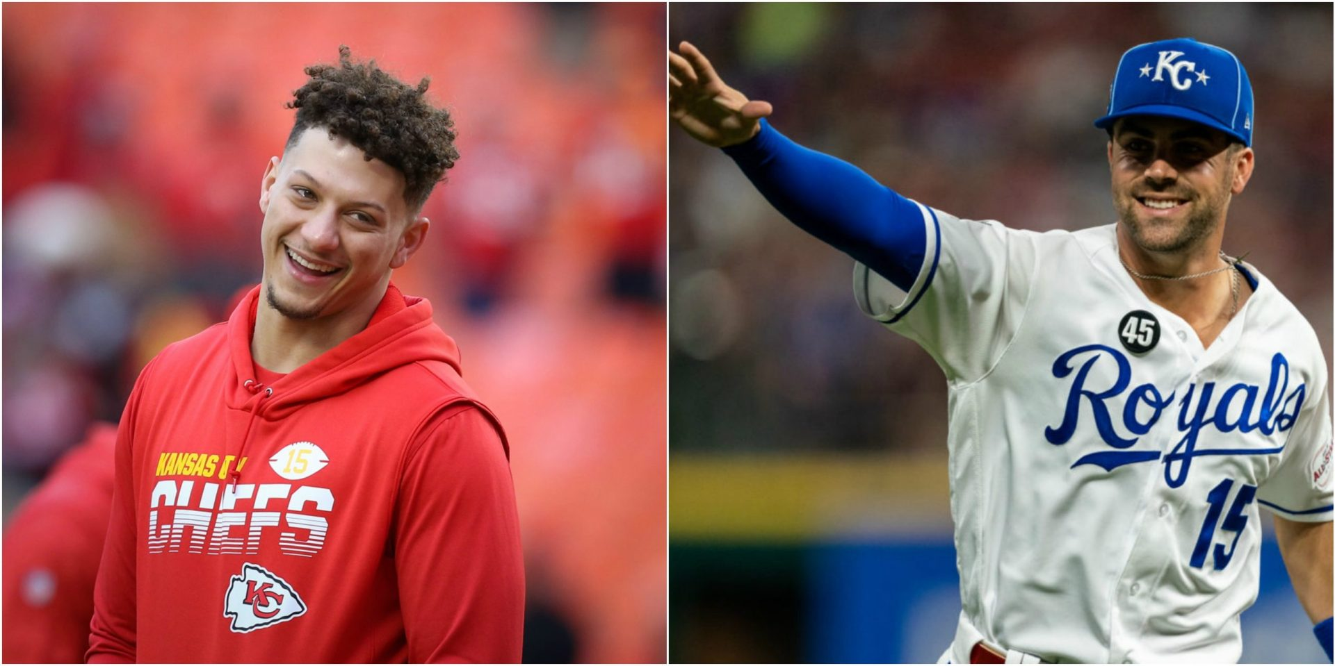 Read the hilarious interaction between Patrick Mahomes and Whit Merrifield over Royals merchandise - THE SPORTS ROOM